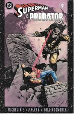 Superman Vs. Predator Comic Book #2 DC Comics 2000 NEAR MINT NEW UNREAD
