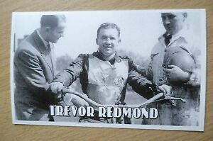 Speedway History Cards- TREVOR REDMOND (Wembley & New Zealand), No.5
