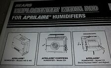 For Aprilaire & Chippewa 2 Sears 3214613 Humidifier Evaporator Water Pad Filters