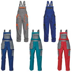Max Damen Praktisch Latzhose Multi Taschen Arbeitshose Berufskleidung Kollektion