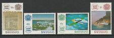 Bahamas 1988 Lloyd's List set SG 835-838 Mnh.