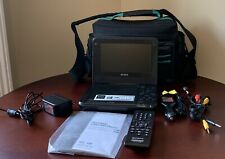 Sony DVP-FX750 Portable DVD/CD Player w/Remote, A/V Cables, Power Adapter & Bag
