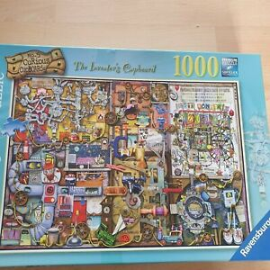 Colin Thompson Jigsaw Curious Cupboard No.5 The Inventors Cupboard - Complete