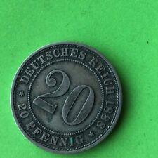 20 PFENNING 1888 A