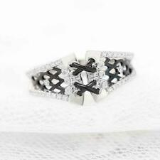 gemstone Ring For Women Corset 925 Sterling Silver Cz