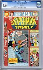 Superman Family   #170   CGC  9.6   NM+   White pgs 4-5/75  Kurt Schafferberger