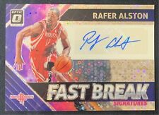🔥🔥2018-19 DONRUSS OPTIC FAST BREAK SIGNATURES RAFER ALSTON HOUSTON ROCKETS🔥🔥