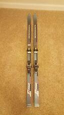 Rossignol E750 Skis 175cm Grey Fibroplast Vintage Downhill Salomon S637 France