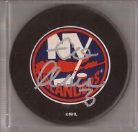 Zdeno Chara Autographed Signed New York Islanders Puck (w/COA)