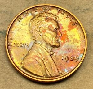 1939 PROOF Lincoln Cent
