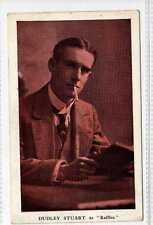 (Gu137-175) Dudley Stuart, Theatre Royal BARNSTAPLE Advert Card Unused c1910, VG