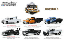 Greenlight 1/64 Dually Drivers Series 4 Pickup & Service Trucks 46040