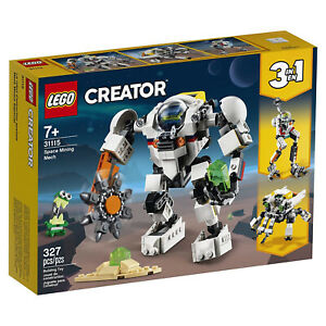 LEGO® Creator Space Mining Mech Building Set 31115 NEW IN STOCK