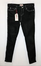 FRENCH STAR Brand Black Super Skinny Denim Jeans Size 10 BNWT #SZ88