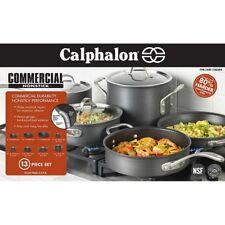 Nonstick Cookware Set Pots and Pans Calphalon Aluminum Commercial 13 Piece New