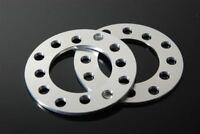 Custom CNC Rim Wheel Spacers Adapters 4x114.3 4x100 4x108 5mm (3/16) 1 Pair