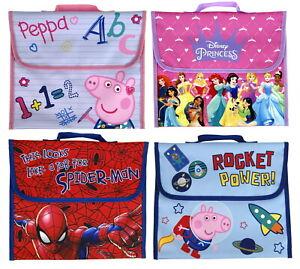 Kids Character Primary School Book Bag Girls & Boys Back to School Satchel