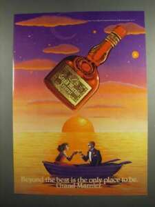 1984 Grand Marnier Liqueur Ad - Beyond the Best