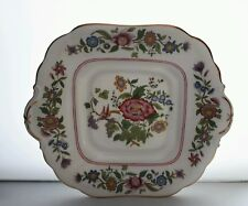 ART DECO AYNSLEY BONE CHINA HAND FINISHED BREAD & BUTTER CAKE PLATE