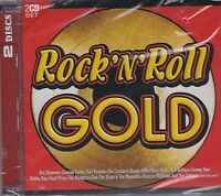 ROCK 'N' ROLL GOLD - VARIOUS ARTISTS on 2 CD's