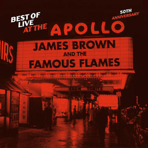 BROWN JAMES - BEST OF LIVE AT THE APOLLO:50TH ANNIVERSARY