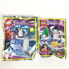 Lego Friends Figurine Pingouin + Le Bonhomme De Neige Neuf  / Penguin Polybag