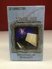 BMG TIMELESS PIANO FAVORITES MELODIES OF ROMANCE 2 CASSETTE TAPE BOX SET