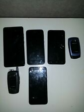 Lot of Smartphones (ZTE, Alcatel, Samsung, Coolpad) (Carriers Vary) - UNTESTED