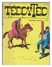 TEDDY TED bimestriel  N°  5 EDT jeunesse et vacances 10/1977