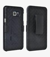 "Samsung Galaxy Note ""5"" Shell Holster Combo Case with Kick-Stand & Belt Clip"