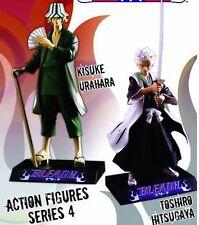 Bleach Series 4 Set of 2 Action Figure Kisuke Urahara and Toshiro Hitsugaya