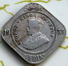 COIN BR.INDIA 2ANNA 1935 VF 3793
