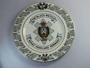 The Black Watch Plate Royal Highland Regiment Limited Edition Plate