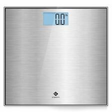 Etekcity Stainless Steel Digital Body Weight Bathroom Scale Step-On Technology