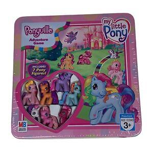 2008 Milton Bradley My Little Pony Ponyville Adventure Game Collectible in Tin