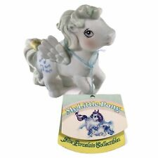 New ListingVintage My Little Pony Medley Pegasus Porcelain Figurine 1985 With Tags No. 5117