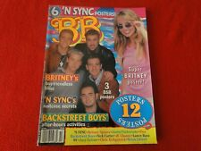 Vintage Teen Pop Rock Magazine with Posters Oct. 1999 Britney, N' Sync G5