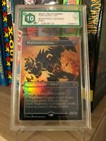 BLIGHTSTEEL COLOSSUS FOIL DOUBLE MASTERS 2020 GRADED 10 GEM MINT MTG