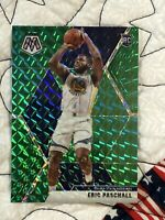 ERIC PASCHALL ROOKIE (GREEN PRIZM) 2019-20 PANINI PRIZM MOSAIC WARRIORS #250