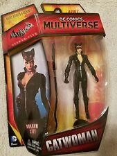 CATWOMAN Action Figure Batman Arkham City DC COMICS Multiverse