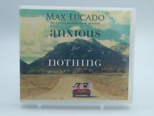Anxious for Nothing By Max Lucado Audiobook 3 CDS Used Free Shipping