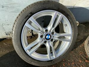 """GENUINE BMW F30 F31 F32 F33 F36 18"""" STYLE 400M M SPORT REAR ALLOY WHEEL 7845881"""
