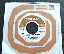 """7"""" Neil MacArthur - She's Not There - US DERAM Promo"""