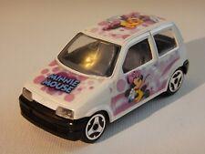Disney Minnie Mouse 1/43 Die Cast Car Bburago Fiat Cinquecento Italy