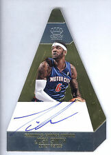 13/14 Panini Preferred Gold Die Cut #67 Josh Smith On Card Autograph #4/7