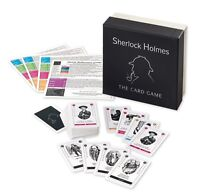 Gibsons Sherlock Holmes the Card Game for 8+ years NEW