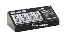 Sound Lab 6.35mm (1/4') TRS/TS In DJ Mixers