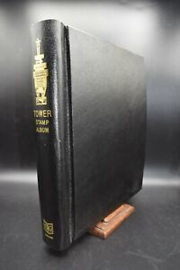 Stamp Stanley Gibbons Tower Album World Canada GB Royal British Colonies 1860s