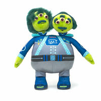 "Disney Store Miles from Tomorrowland Watson & Crick Plush 14"" Stuff Toy"
