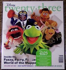 Disney Twenty-Three 23 Winter 2011 Nip New Muppets Rare Dumbo Jim Henson Legend